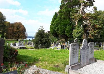 Friedhof bei Muckross Abbey im Killarney National Park