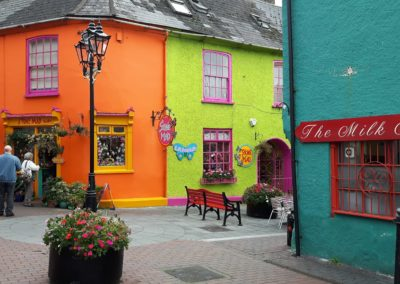 Kinsale's multicoloured houses