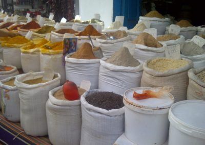 Stand with spices in Sousse