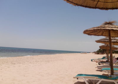 Beach of Hammamet