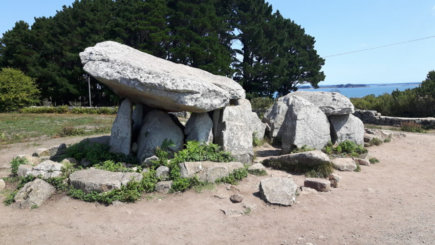 Tour de France of Asterix: Dolmen in Brittany