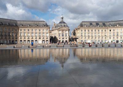 Mirroir d'eau in Bordeaux