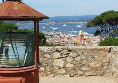 View from the citadel on St. Tropez